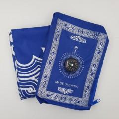 Дорожный коврик для намаза Компас Sajda 60x120 Синий