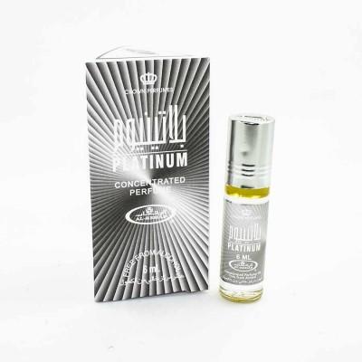 Арабские масляные духи Al-Rehab Platinum 6 мл 100878
