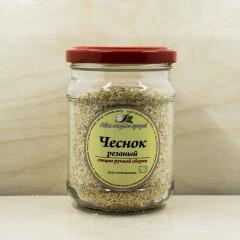 Приправа Чеснок сушеный резаный Лавка специй и приправ 100 гр