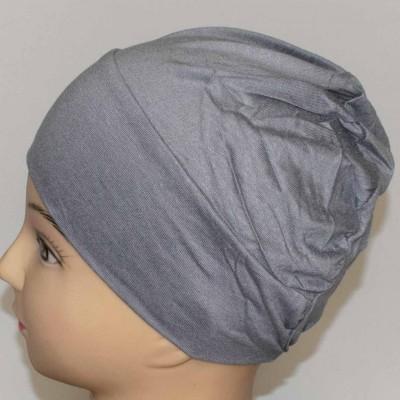 Боне (шапочка) на резинке Ozsoy Серый