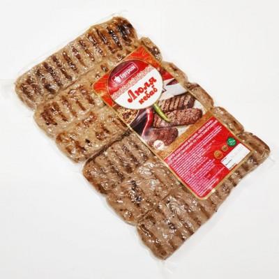 Люля кебаб говяжий Кулинарное мясное изделие Бугрин Халяль