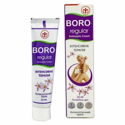 Антисептический Крем Boro Regular Интенсивная терапия 25 мл
