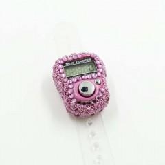 Электронные четки (Тасбих) для зикра с камушками Розовый
