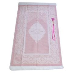 Коврик для молитвы подарочный набор Sajda 70 х 120 см Розовый