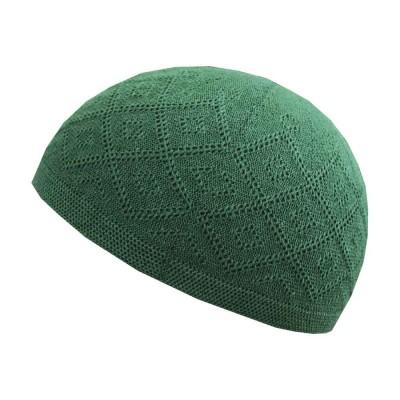 Тюбетейка Сетка Стандарт Takiye в упаковке Зелёный