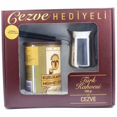 Kurukahveci Mehmet Efendi Натуральный Кофе молотый 250 гр с туркой