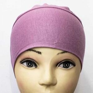 Боне (шапочка) на резинке Ozsoy Розовый