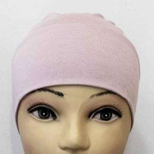Боне (шапочка) на резинке Ozsoy Пудровый