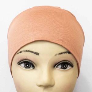 Боне (шапочка) на резинке Ozsoy Коралловый