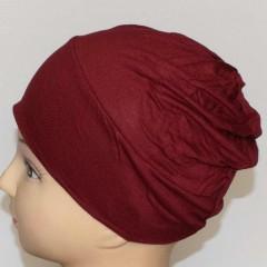 Боне (шапочка) на резинке Ozsoy Бордовый