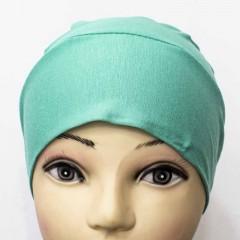 Боне (шапочка) на резинке Ozsoy Бирюзовый