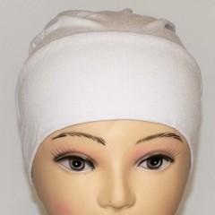 Боне (шапочка) на резинке Ozsoy Белый
