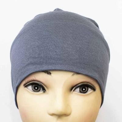 Боне (шапочка) на резинке Ozsoy Тёмно-серый