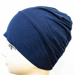 Боне (шапочка) на резинке Ozsoy Синий