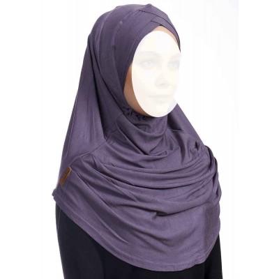 Хиджаб цельный Ecardin Capraz Turban Сиреневый