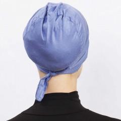 Боне с нахлёстом на завязках Ecardin Çapraz bone Голубой