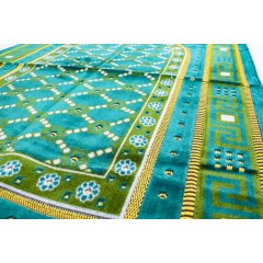 Коврик для намаза Алтарь Sajda 68x110 Зелёный