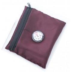 Дорожный коврик для намаза в чехле с компасом Sajda 108*70 см Бордовый