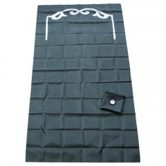 Дорожный коврик для намаза в чехле с компасом Sajda 108*70 см Тёмно-зеленый
