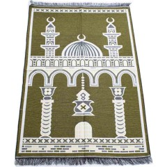 Коврик для молитвы Two Minarets Sajda 80x120 Желтый
