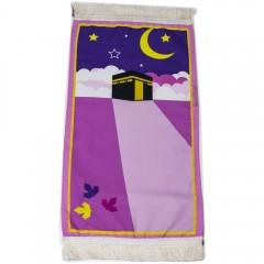 Коврик для намаза детский Kaaba Sajda Розовый