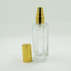 Флакон для спрей парфюмерии Стандарт 17 мл Золотой
