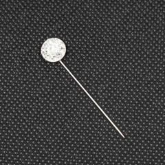 Булавка (иголка) узорная (длинна изд. 4 см) Диск