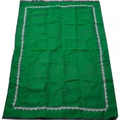 Коврик для молитвы подарочный набор колба Sajda 70 х 115 Зеленый New