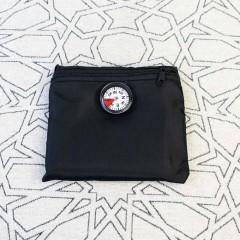Дорожный коврик для намаза в чехле с компасом Sajda 108*70 см Чёрный