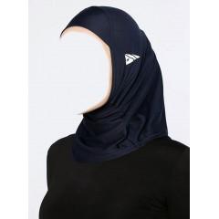 Спортивный хиджаб Балаклава Ecardin Тёмно-синий