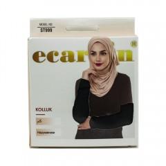 Нарукавники женские Ecardin Kolluk Чёрный