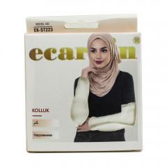 Нарукавники женские Ecardin Kolluk Кремовый