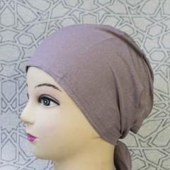 Боне (шапочка) на завязках Bone Miss Ipek Тёмно-розовый