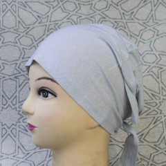 Боне (шапочка) на завязках Bone Miss Ipek Серый