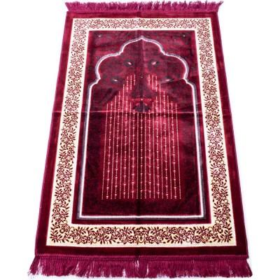 Коврик молитвенный Kadife Sajda Малиновый
