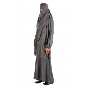 Платье с никабом (паранжой)