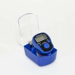 Электронные четки (тасбих) с подсветкой (синий)