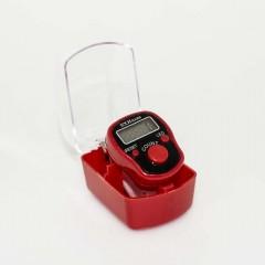 Электронные четки (тасбих) с подсветкой (красный)
