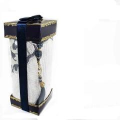 Коврик для молитвы подарочный набор Sajda 70 х 120 см Черный 0510204