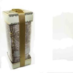 Коврик для молитвы подарочный набор Sajda 70 х 120 см Золотистый 0510205