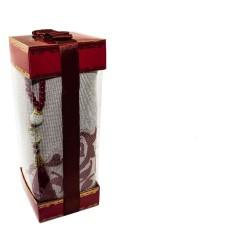 Коврик для молитвы подарочный набор Sajda 70 х 120 см Коричневый 0510206