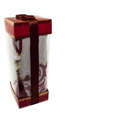 Коврик для молитвы подарочный набор Sajda 70 х 120 см