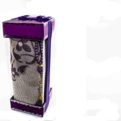 Коврик для молитвы подарочный набор Sajda 70 х 120 см Фиолетовый 0510208