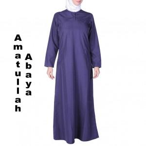 Amatullah Abaya Женская абая Темно-синий