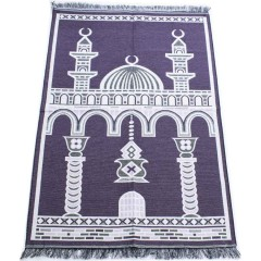 Коврик для молитвы Two Minarets Sajda 80x120 Бордовый