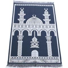 Коврик для молитвы Two Minarets Sajda 80x120 Лазурный