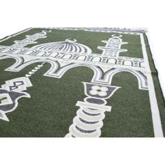 Коврик для молитвы Two Minarets Sajda 80x120 Зеленый