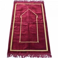 Коврик для молитвы Minimalism Sajda 67x110 Бордовый