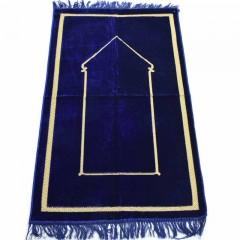 Коврик для молитвы Minimalism Sajda 67x110 Синий