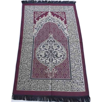 Коврик для намаза Oriental Ornament Бордовый